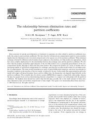 The relationship between elimination rates and ... - ResearchGate