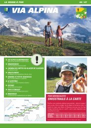 VIA ALPINA - Swiss Trails
