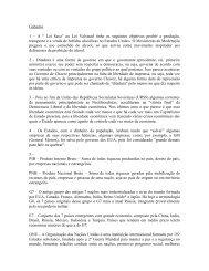 Gabarito 1 - Colégio Guilherme de Almeida