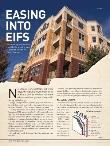 EASING INTO EIFS - PaintSquare