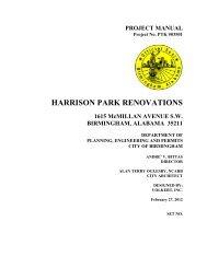 HARRISON PARK RENOVATIONS - Birmingham