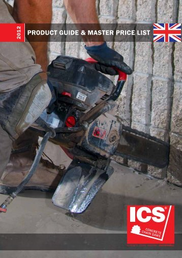 ICS Chainsaws Products 2012 (pdf) - Diaquip