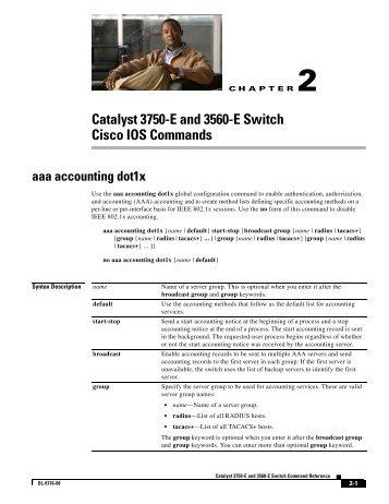 Catalyst 3750-E and 3560-E Switch Cisco IOS ... - DNIP . NET