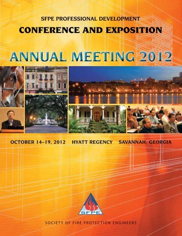 annual meeting 2012 - Society of Fire Protection Engineers > Home