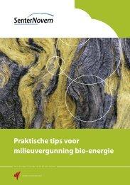 Praktische tips voor milieuvergunning bio-energie - Mestverwerken