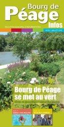 Bourg de Péage Infos n°63 - Ville de Bourg de Péage
