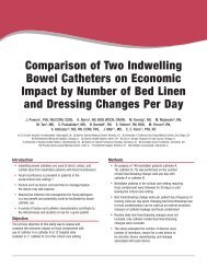 Comparison of Two Indwelling Bowel Catheters on Economic Impact ...