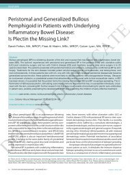 Peristomal and generalized bullous Pemphigoid in Patients with ...