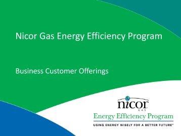 Nicor Gas Energy Efficiency Program - Will County Green