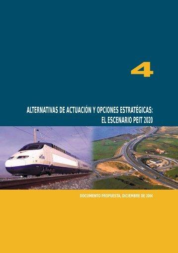 alternativas de actuación y opciones estratégicas - Plan Estratégico ...