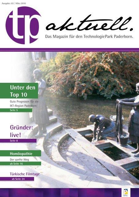 Gründer: live! - TechnologiePark - Paderborn