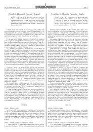 Conselleria d'Educació, Formació i Ocupació Conselleria ... - ISEACV