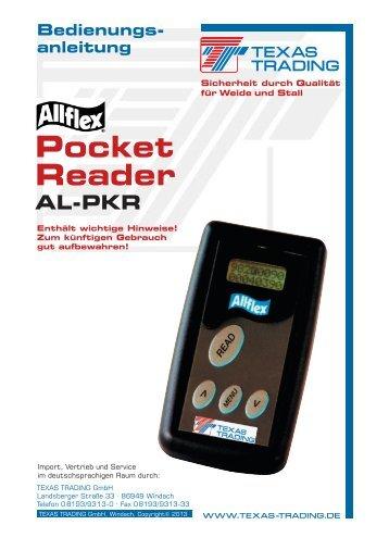 Pocket Reader - Texas Trading GmbH