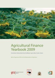 Agricultural Finance Yearbook 2009 - Agriculture Finance Support ...