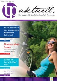 Nordsee küsst Senne - TechnologiePark - Paderborn