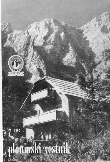 PV 1963/7 (PDF - Planinski Vestnik