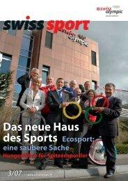 Das neue Haus des Sports Ecosport: - Swiss Olympic