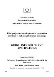 guidelines for grant applications - European Commission - Europa