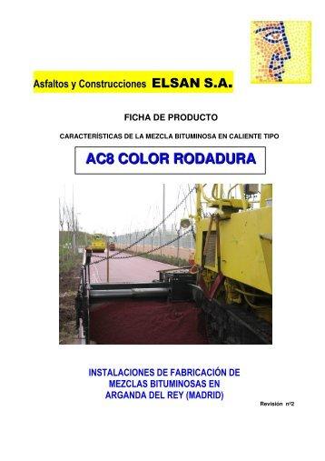 AC8 COLOR RODADURA - Elsan