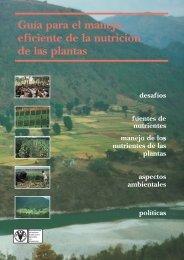 Guía para el manejo eficiente de la nutrición de las plantas - FAO.org