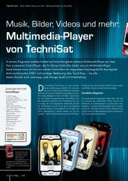 Multimedia-Player von TechniSat