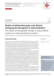 PDF 1,5 MB | 20 Seiten - CLINOTEL-Journal