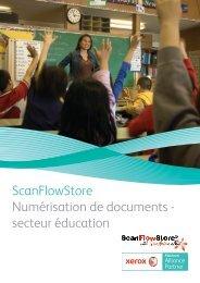 ScanFlowStore Numérisation de documents - secteur éducation