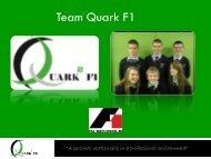 Team Quark F1 - F1 in Schools