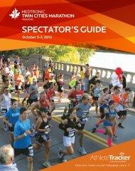 SPECTATOR'S GUIDE - Twin Cities Marathon