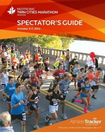 SPECTATOR'S GUIDE - Twin Cities Marathon