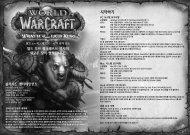 월드 오브 워크래프트: 리치 왕의 분노 - Blizzard Entertainment