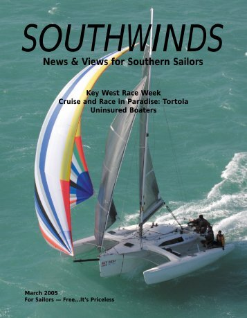 Southwinds Sailing March 2005 - Southwinds Magazine