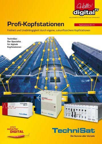 TechniSat Profi-Kopfstationen