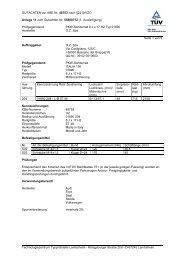 GUTACHTEN zur ABE Nr. 48753 nach §22 StVZO Anlage 11 zum ...