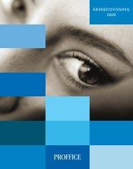 Proffice Årsredovisning 2000 - Cision
