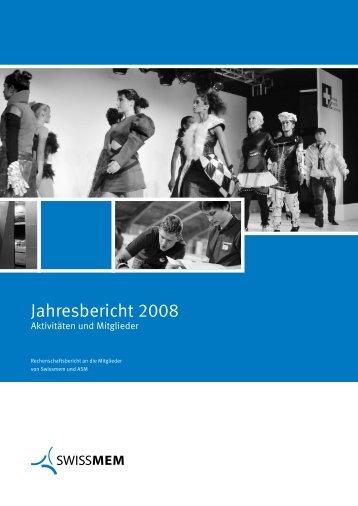 090356 Jahresbericht IH D - Swissmem