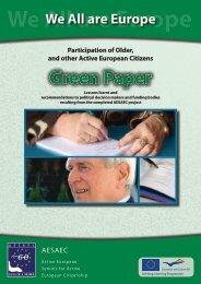 Green Paper - AESAEC