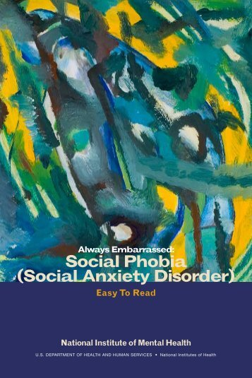 Social Phobia (Social Anxiety Disorder) - State of New Jersey