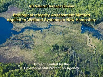 Section 6.1 Ecological Integrity Assessment Method ... - NEIWPCC