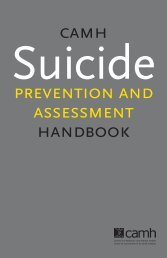 Suicide Prevention and Assessment - CAMH Knowledge Exchange
