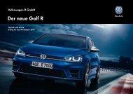 Der neue Golf R - Volkswagen AG