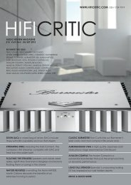 Spendor D7 HiFi Critic Sept 2013