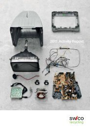 2011 Activity Report - SWICO Recycling