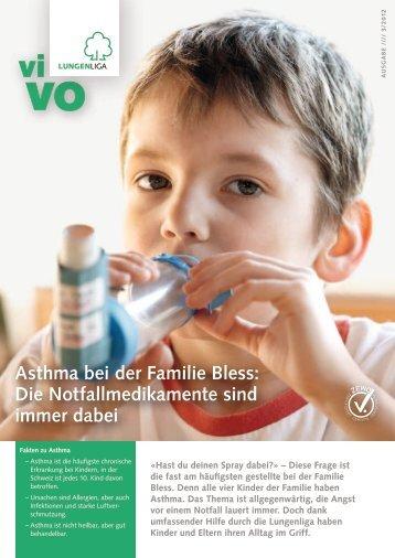 Asthma bei der Familie Bless: Die ... - Ligue pulmonaire