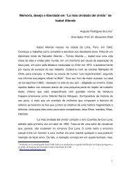 """""""Lo más olvidado del olvido"""" de Isabel Allende"""