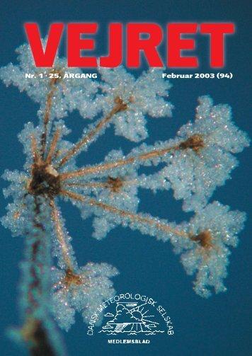 Nr. 1 - 25. ÅRGANG Februar 2003 (94)