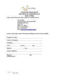 ACKNOWLEDGEMENT RECEIPT OF ADDENDUM #1 RFB 12-PR01