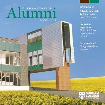 March 2013 [PDF - 4MB] - Durham College