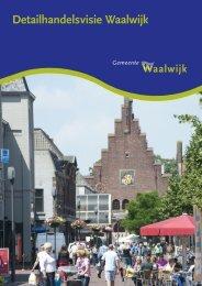 Detailhandelsvisie Waalwijk - Gemeente Waalwijk