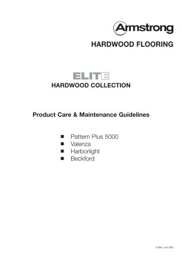 HARDWOOD FLOORING - Armstrong